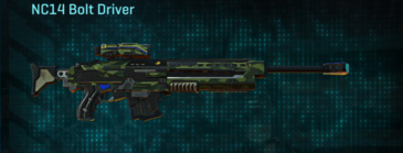 Amerish forest sniper rifle nc14 bolt driver