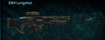 Amerish forest v2 sniper rifle em4 longshot