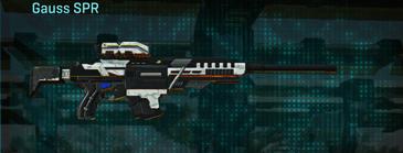 Esamir snow sniper rifle gauss spr