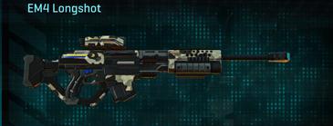 Desert scrub v1 sniper rifle em4 longshot