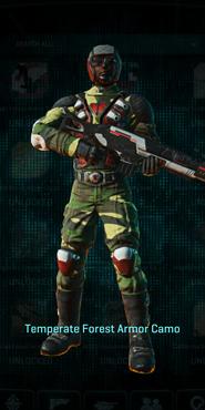 Tr temperate forest combat medic