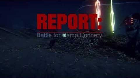 Battle for Camp Connery TRAM attacks VS warpgate on Miller