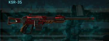 Tr zebra sniper rifle ksr-35