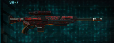 Tr digital sniper rifle sr-7