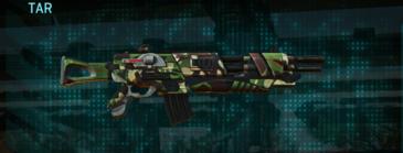 African forest assault rifle tar