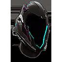 Retracted Aurora Helmet
