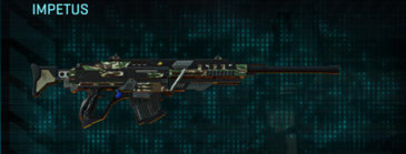Scrub forest sniper rifle impetus