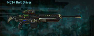 African forest sniper rifle nc14 bolt driver