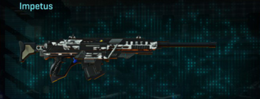 Forest greyscale sniper rifle impetus