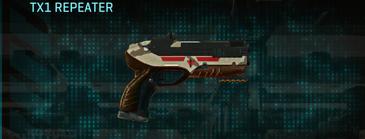 Indar scrub pistol tx1 repeater