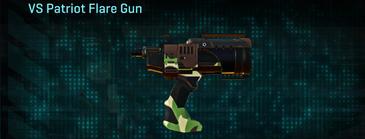 African forest pistol vs patriot flare gun