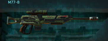 Amerish forest v2 sniper rifle m77-b