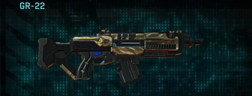 Indar dunes assault rifle gr-22