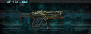 Pine forest smg af-4 cyclone