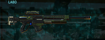 Amerish leaf sniper rifle la80