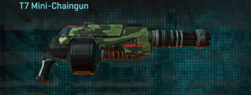 Amerish forest heavy gun t7 mini-chaingun