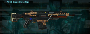 Indar canyons v1 assault rifle nc1 gauss rifle