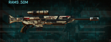 Indar scrub sniper rifle rams .50m