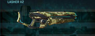 Palm heavy gun lasher x2