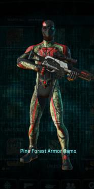 Tr pine forest infiltrator