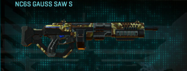 India scrub lmg nc6s gauss saw s