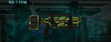 Jungle forest smg ns-7 pdw