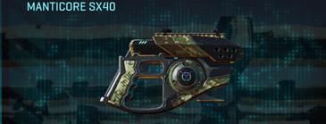 Pine forest pistol manticore sx40