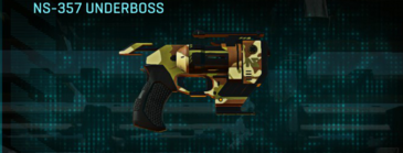 India scrub pistol ns-357 underboss