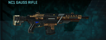 Indar plateau assault rifle nc1 gauss rifle
