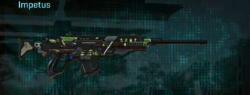 African forest sniper rifle impetus