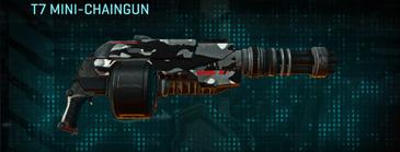Indar dry brush heavy gun t7 mini-chaingun