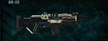 Indar dry ocean assault rifle gr-22