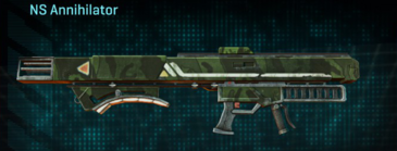 Amerish forest v2 rocket launcher ns annihilator