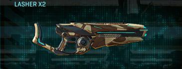 Indar scrub heavy gun lasher x2