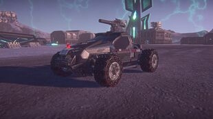 Harasser Composite Armor Front
