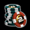 Poker Chips Decal