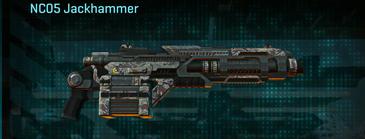 Arid forest heavy gun nc05 jackhammer
