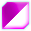 Scythe Glowing Purple Glass Decal