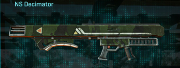 Amerish leaf rocket launcher ns decimator