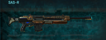 Indar rock sniper rifle sas-r