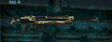 Palm sniper rifle sas-r