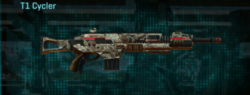 Arid forest assault rifle t1 cycler