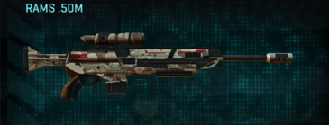 Desert scrub v2 sniper rifle rams .50m