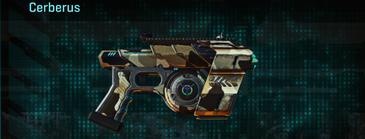 Desert scrub v1 pistol cerberus