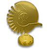 NC Gold Hood Ornament