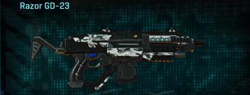 Forest greyscale carbine razor gd-23