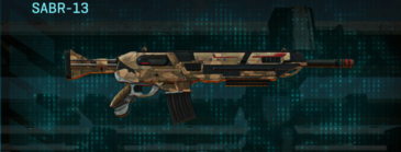 Indar plateau assault rifle sabr-13