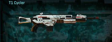Esamir snow assault rifle t1 cycler