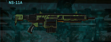 Amerish leaf assault rifle ns-11a