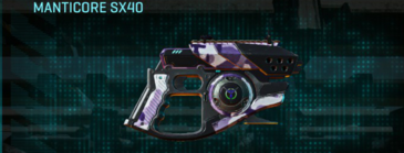 Vs urban forest pistol manticore sx40